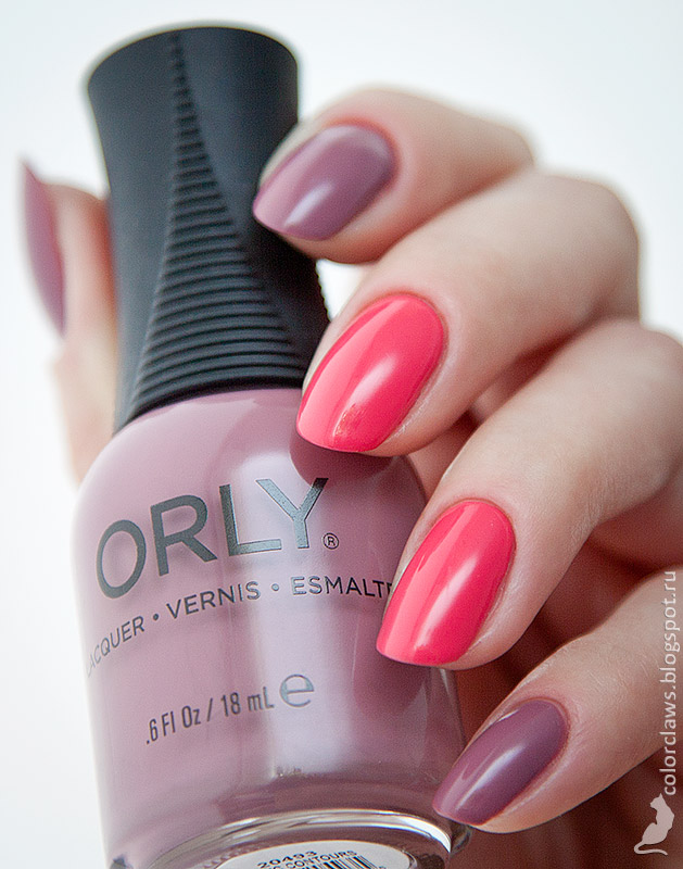 Orly Classic Contours + First Blush