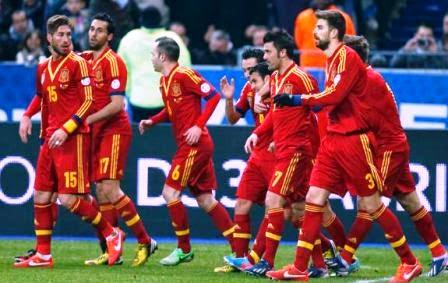 Spanyol vs Bolivia