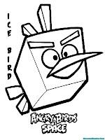 Mewarnai Burung Es Dalam Angry Birds Space