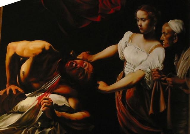 "caravaggio judith beheading holofernes A painting of ""judith beheading holofernes"" found near toulouse in 2014 could  be worth $136 million, a dealer says but experts are divided."