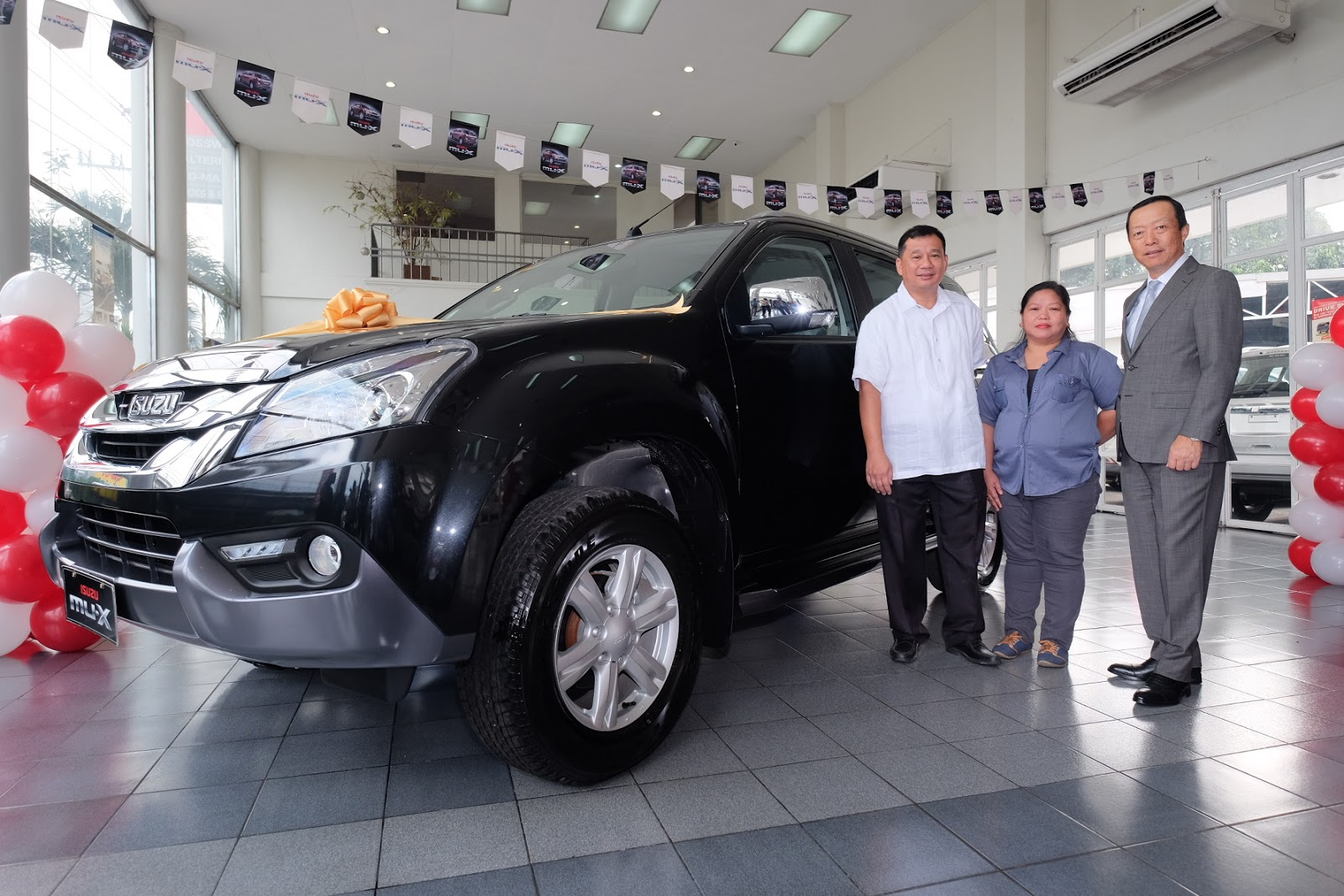 Isuzu mu-X winner