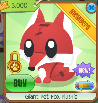 It Sells For 3000 Tickets At The Summer Carnival Pet Fox Plush Will Come Out Tomorrow 1500 I Can Tell Future D Its So Cute