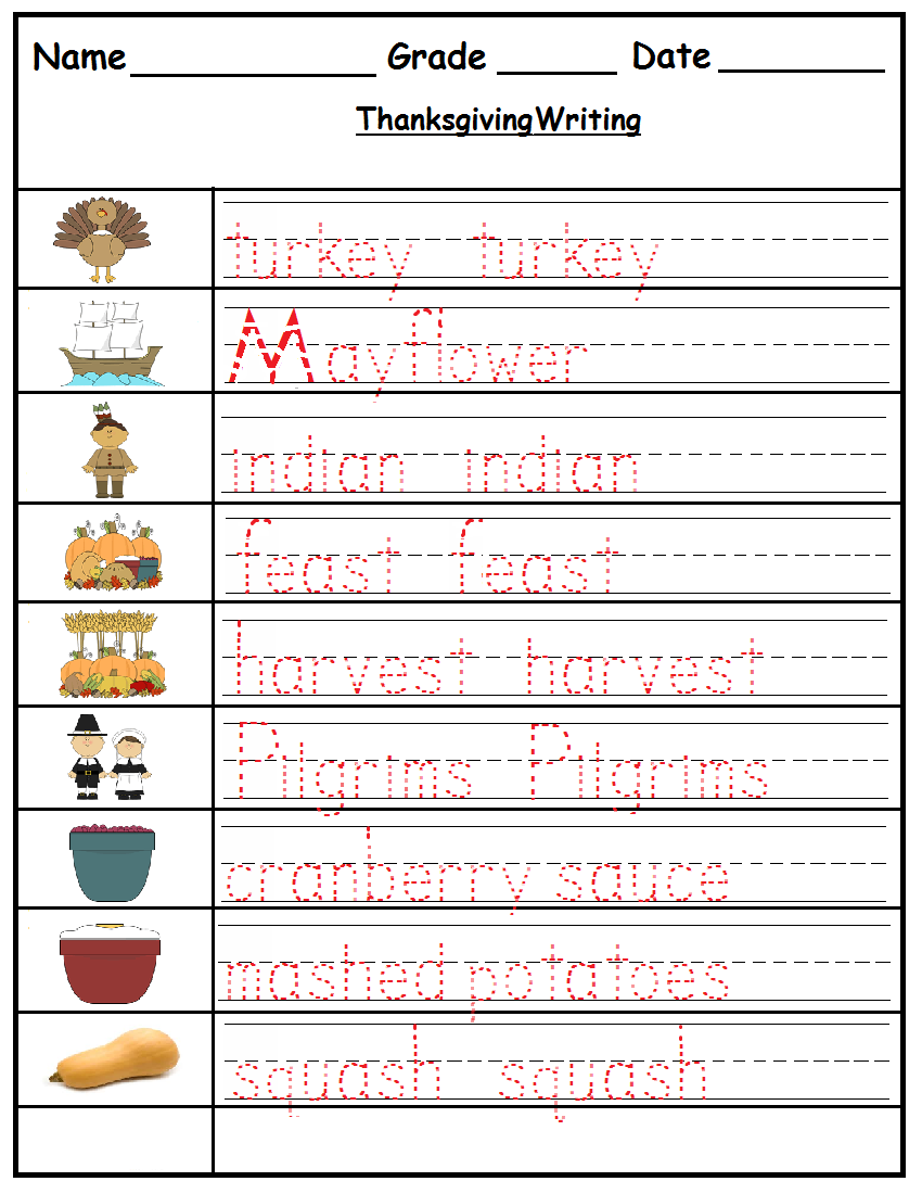 worksheet Kindergarten Thanksgiving Worksheets once upon a time there was teacher thanksgiving worksheets httpwww teacherspayteachers comproductthanksgiving literacy pack for kindergarten grade 1 986505
