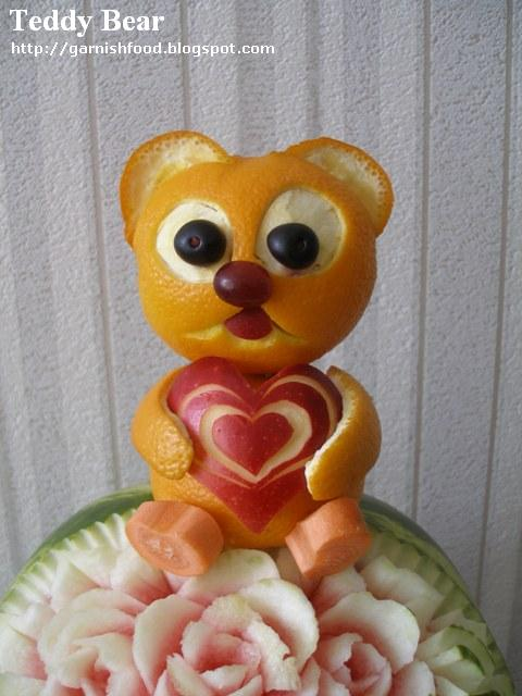 teddy bear of oranges