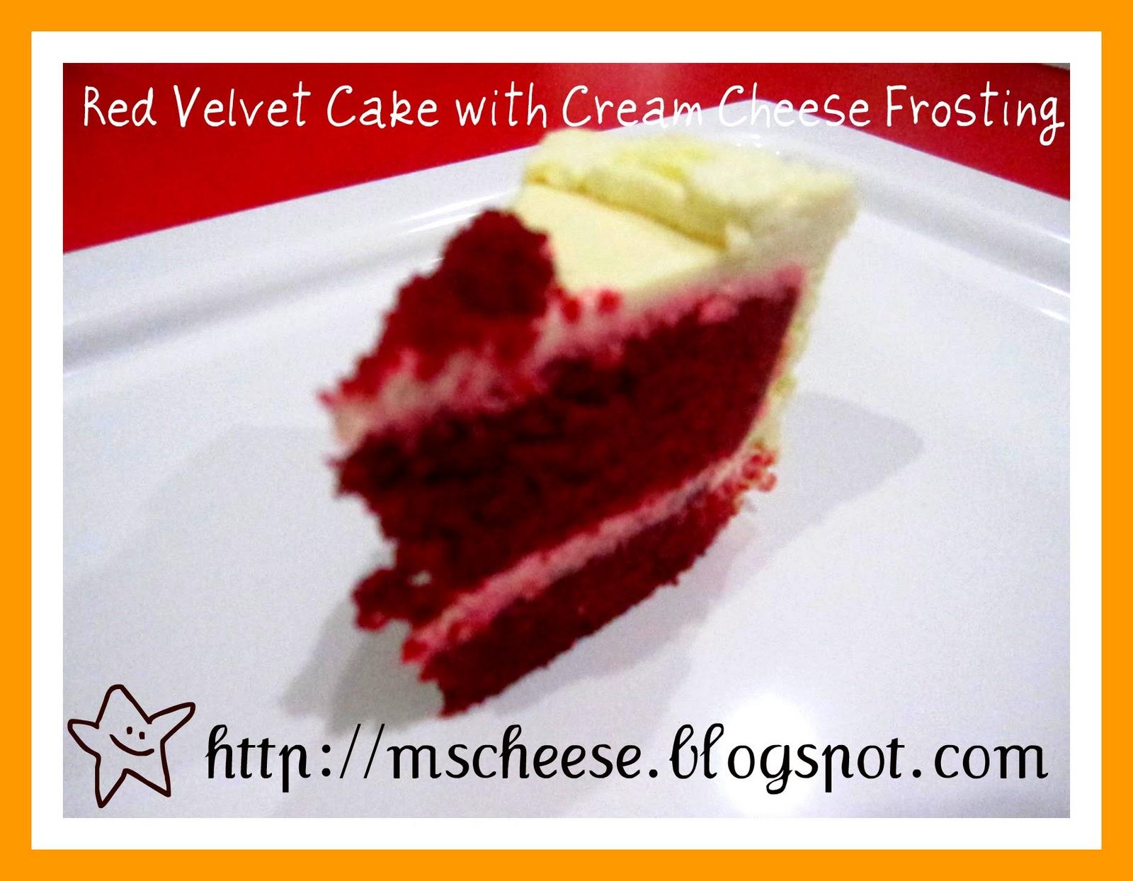 Alton Brown Red Velvet Cake