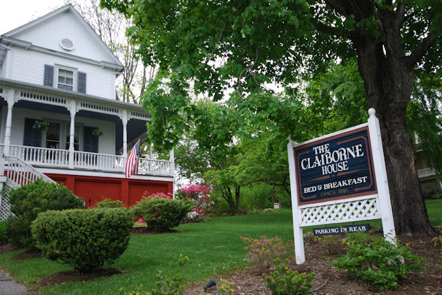 Front of The Claiborne House B&B taken today May 11, 2013