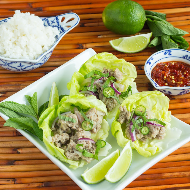 Kid Cultivation: Thai Turkey Lettuce Wraps (Larb)