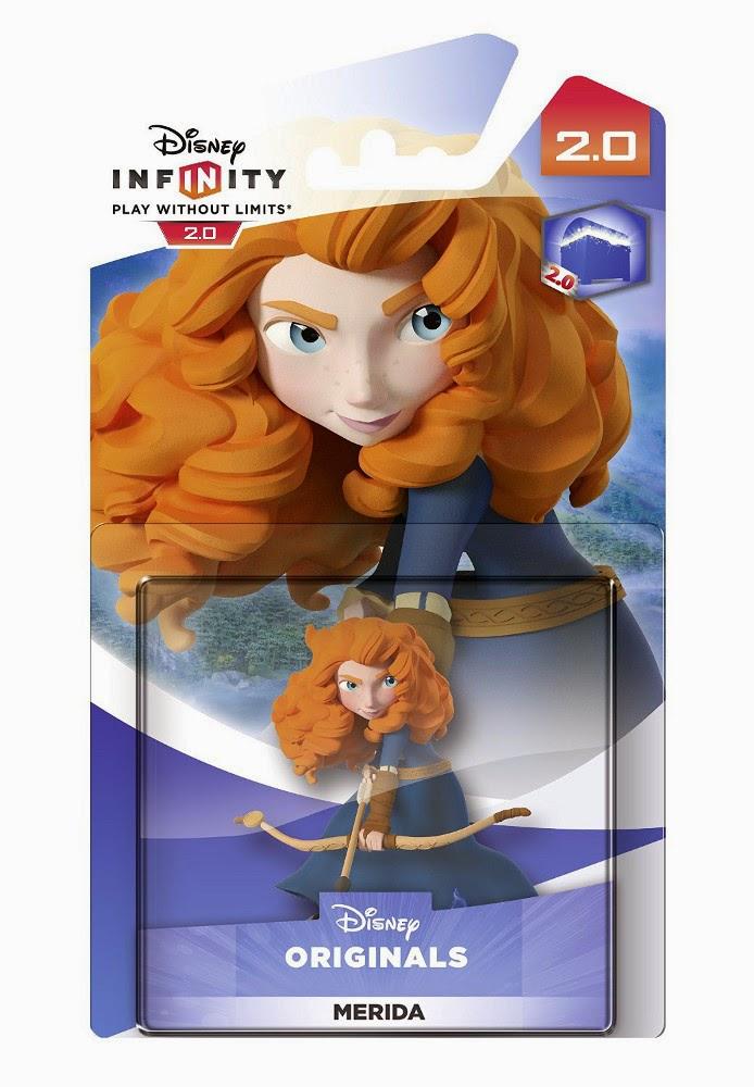 TOYS : JUGUETES - DISNEY Infinity 2.0   Figura Merida : Brave | Muñeco  Videojuegos | Producto Oficial | A partir de 7 años  Xbox One, PlayStation 4, Nintendo Wii U, PlayStation 3, Xbox 360  Disney | 7 noviembre 2014