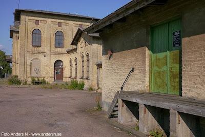 Landskrona, gamla järnvägsstationen