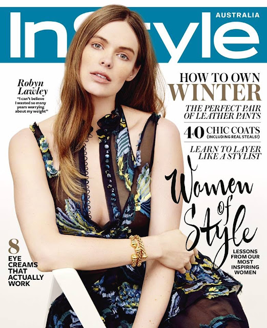 Fashion Model @ Robyn Lawley - InStyle Australia, June 2015