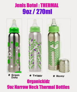 Botol Susu Besi Tahan panas/Sejuk