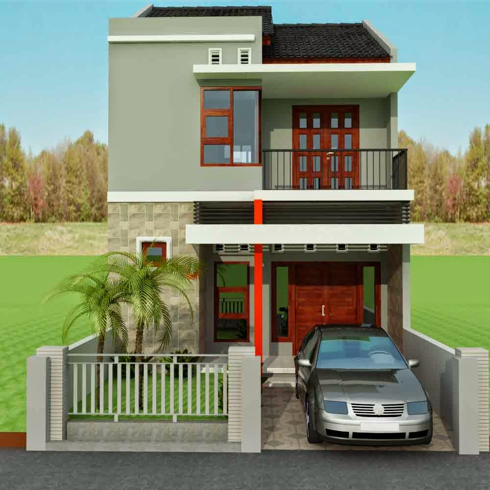 Gambar Desain Rumah Minimalis Type 45 2 Lantai & Gambar Desain Rumah Minimalis Type 45 2 Lantai | Rumah Impian