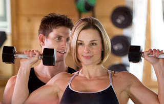 Exercise with Professional trainer
