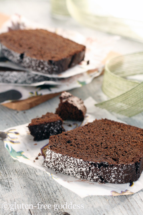 Gluten free chocolate gingerbread
