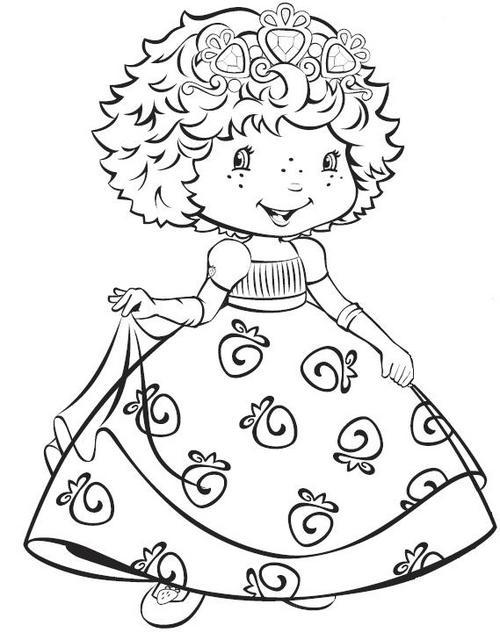 Desenhos Da Turma Da Moranguinho Baby Para Colorir