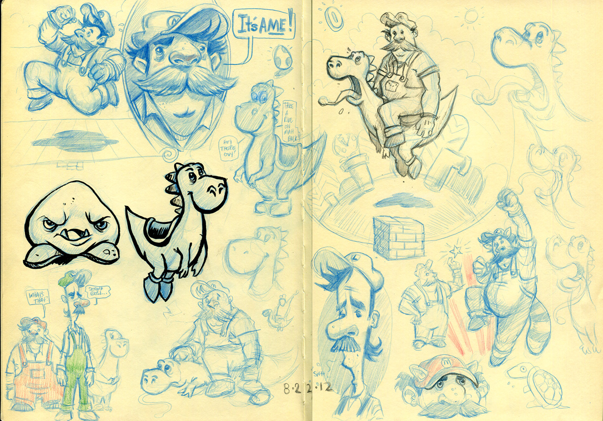 8.24.12 - Zebz Sketchbook
