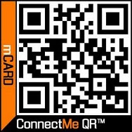 Our ConnectMe QR code