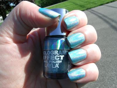Layla Hologram Effect Mermaid Spell