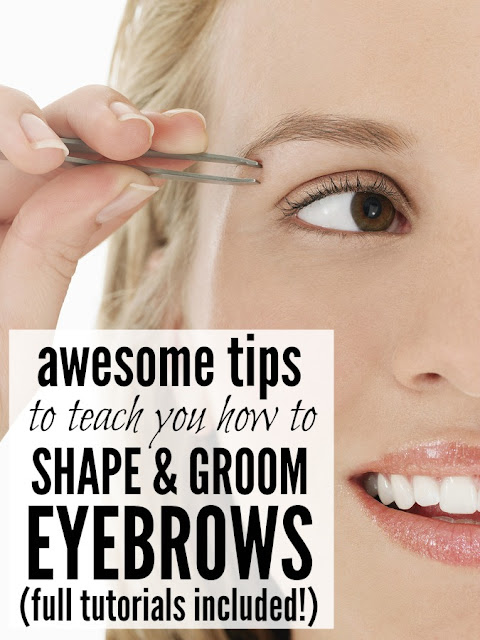 5 TUTORIALS TO TEACH YOU HOW TO SHAPE & GROOM YOUR EYEBROWS