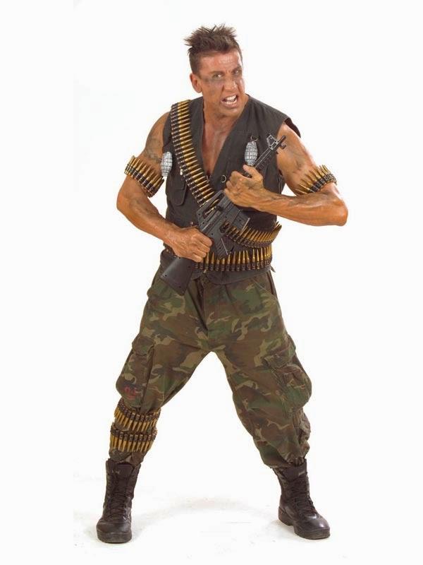 Udklædt som soldat