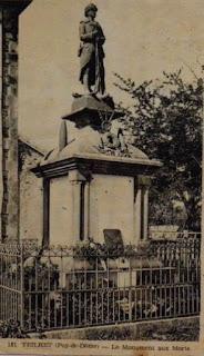 CPA monuments aux Morts du Puy-de-Dôme, Theilhet