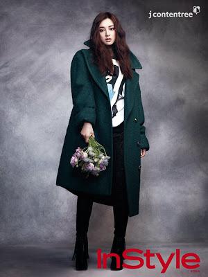 Kim Ji Won - InStyle Magazine December Issue 2013