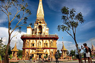 Chalong Temple the most beautiful temple in Phuket