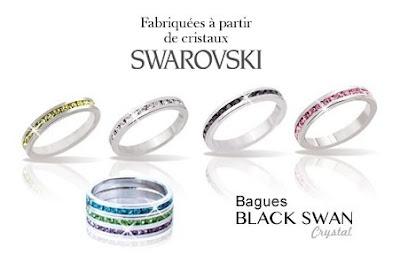 Bague Swarovski® à seulement 9€ au lieu de 49€ ! bon plan bijoux