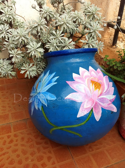 Lotus on a pot