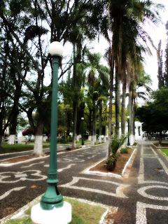 Praça General Osório, em Santana do Livramento