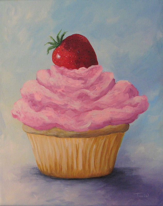 sweetheart strawberry cupcakes pretty in pink strawberry cupcake ...