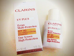 Review Of Clarins UV PLUS HP Day Screen High Protection Beige Shade