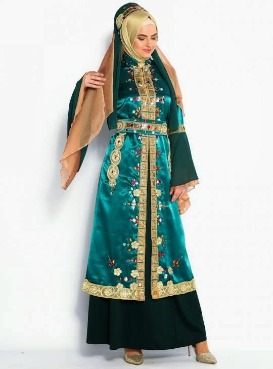 Tenue soirée pour hijab
