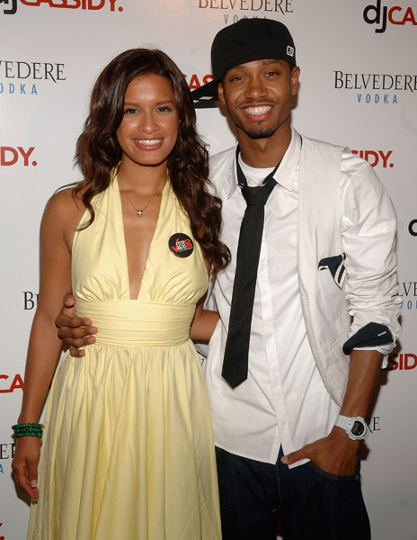 106 and park rocsi boyfriend rocsi and terrence j out at bet