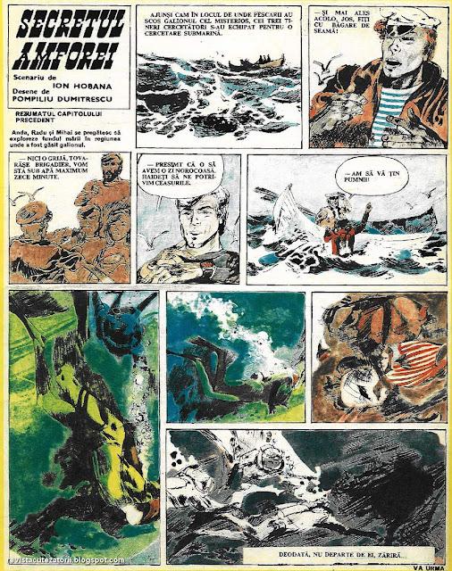 bd benzi desenate cutezatorii revista ion hobana pompiliu dumitrescu desene comics romania