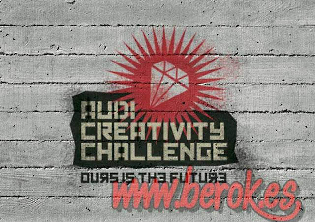 Graffiti logo para audi creativity challenge
