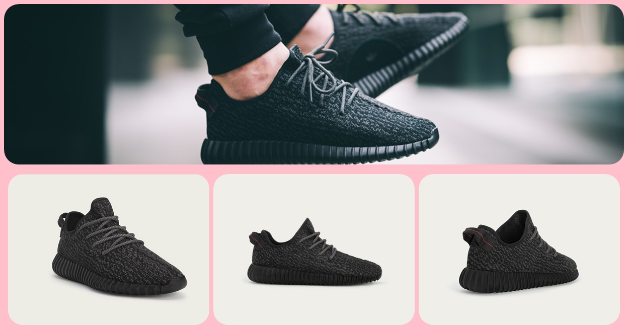 adidas originals x kanye west 'yeezy boost 350' sneakers