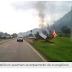Perseguição: Católicos queimam acampamento de evangélicos