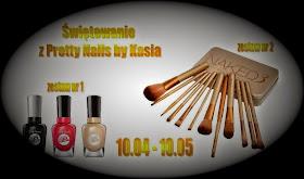 Do 10 maja 2015 rozdanie na blogu Pretty nails by Kasia