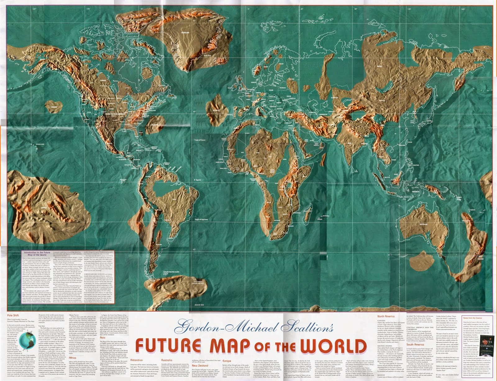US NAVY MAP of the FUTURE is this NOW THE REAL SIGNS OF TIMES