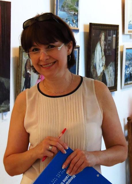 Хозяйка галереи Митець, Анна Лавреха