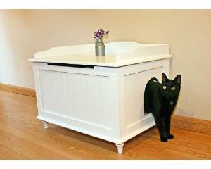 Cat Lucky: Cat Litter Box Furniture To Hide The Mess And Give Style To Your  Home