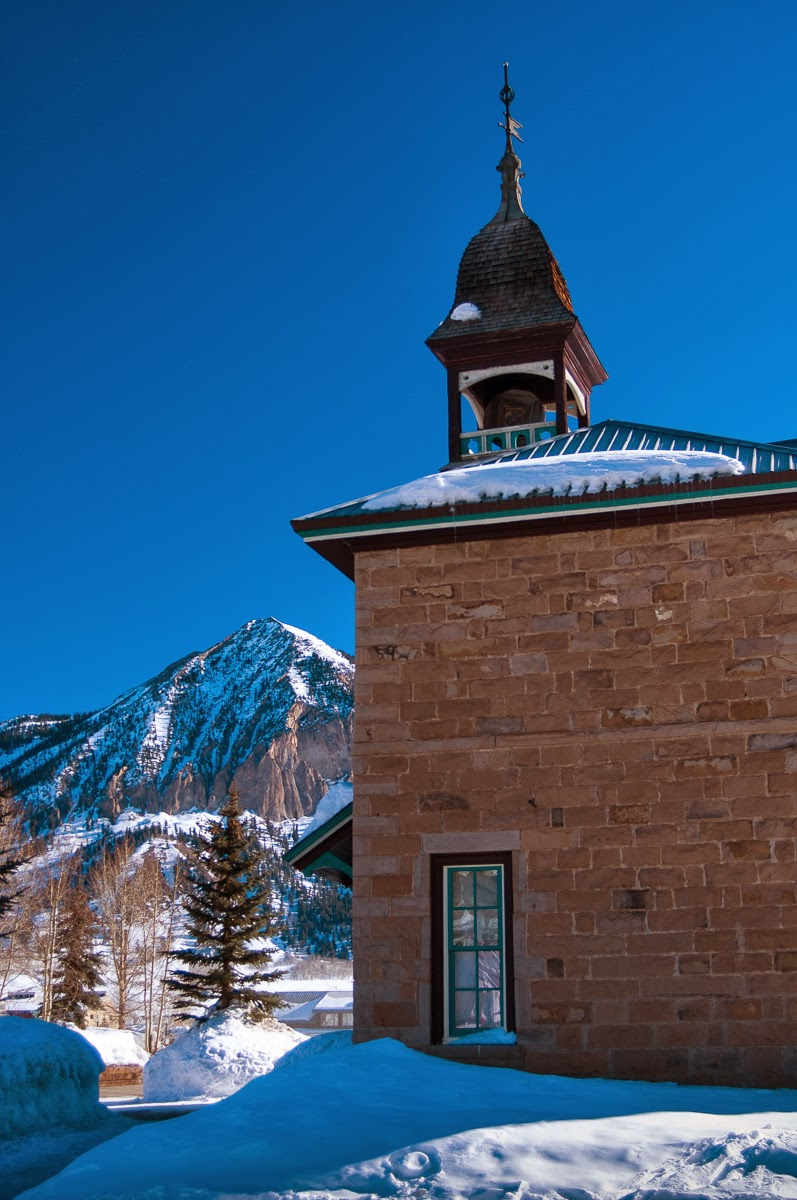 Crested Butte: Old Rock Community Library