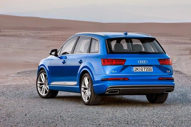Audi Q7 newer smaller than older generation