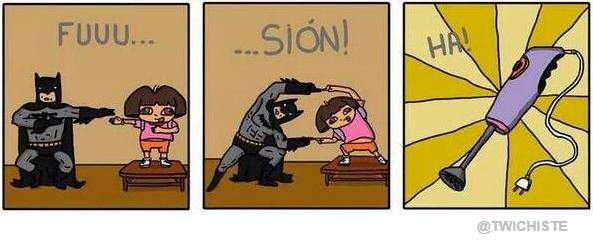 batman + dora = BatiDora