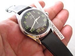 HMT JANATA BLACK ROMAN DIAL - MANUAL WINDING
