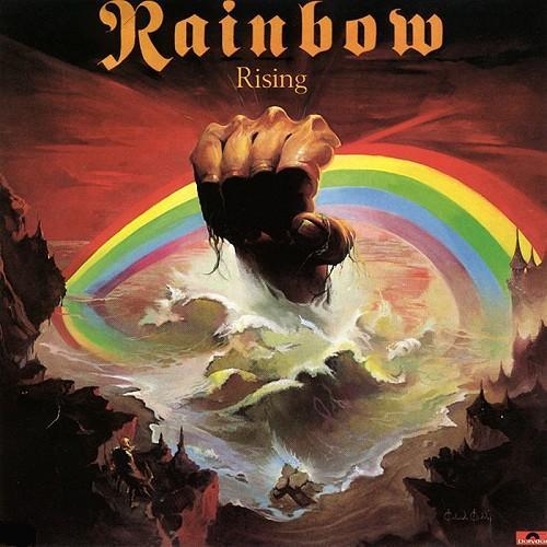 Émois graphiques probes & visuels chouettes - Page 4 Rainbow+-+1976+-+Rising%2528Capa%2529