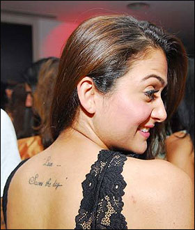 Hot Tattoos, Bollywood Hot Tattoos