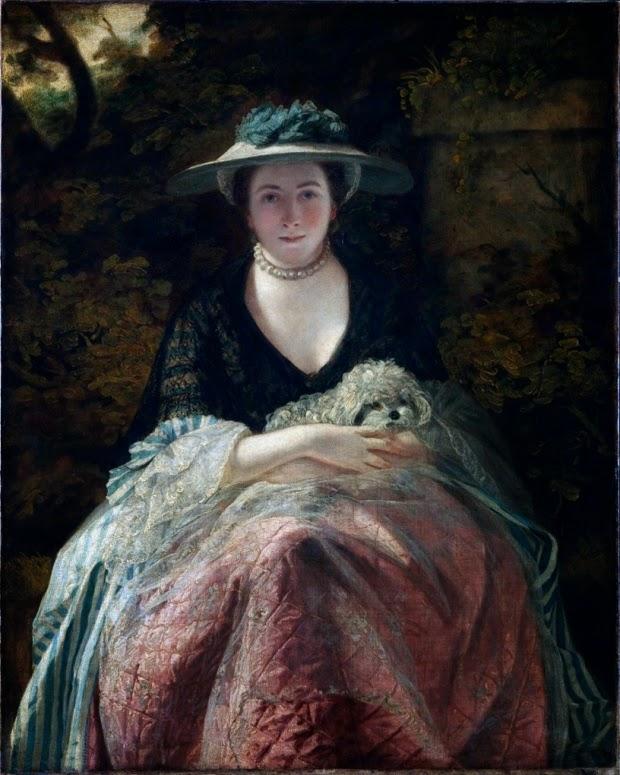 Joshua Reynolds - Miss Nelly O'Brien,c.1762-c.1764.