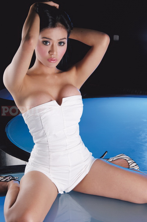 model indonesia toket semok